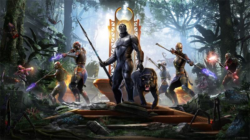 """为瓦坎达而战!《漫威复仇者》免费扩展内容""""黑豹""""上线在即!"""