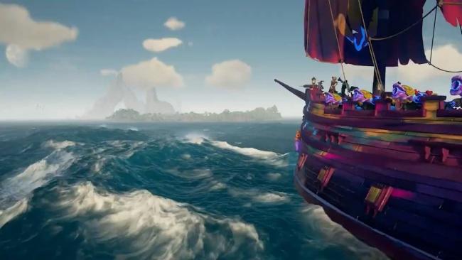 迅游助力《盗贼之海》第四赛季9.23上线,联机不掉线