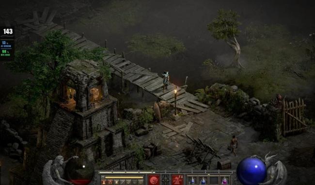 《暗黑2重制版》已正式上线,迅游超低延迟助力玩家游戏