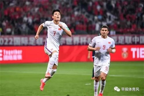 12强赛首胜 中国男足补时3:2绝杀越南队