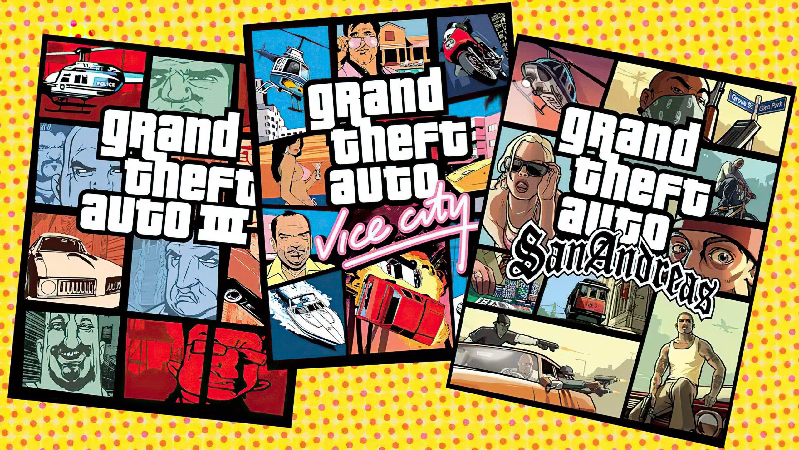 传闻:《GTA:三部曲-终极版》实体版12月7日发售