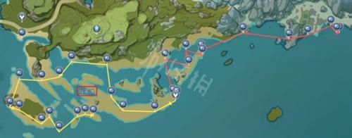 原神星螺在哪里采集 原神星螺采集位置汇总