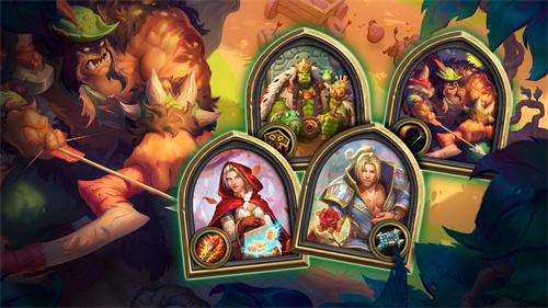 《炉石传说》万圣节活动开启 英雄盛装出席